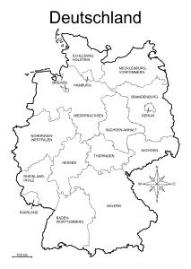 karte bundesländer zum ausdrucken Landkarten drucken mit Bundesländern, Kantonen, Hauptstädte